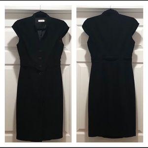 Calvin Klein cap sleeve, tailored fit dress